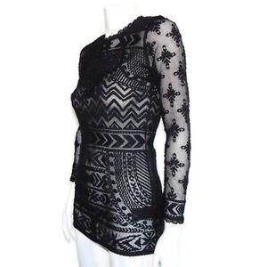 Isabel Marant Pour H&M Embroidered Lace Dress 6